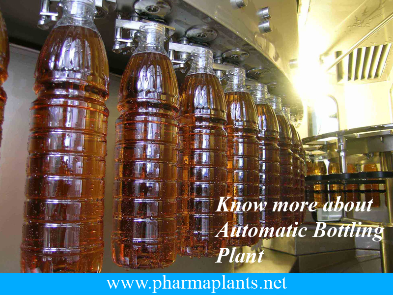 Automatic Bottling Plant, Automatic Bottle Processing Plant